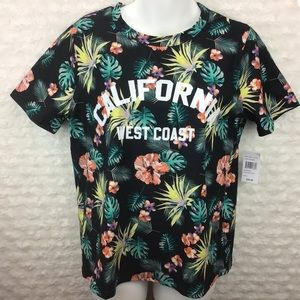 Justify Tops - NWT Justify California Floral Blouse Top size L